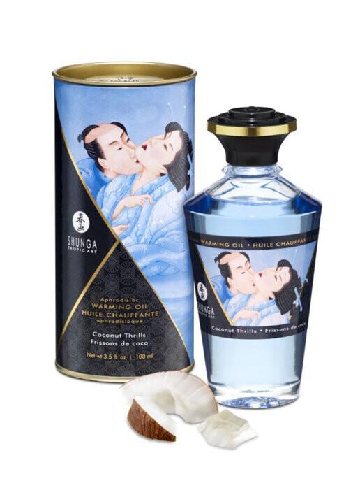 Масло Shunga Afrodisiac Warming Oil Coconut Thrills 100мл