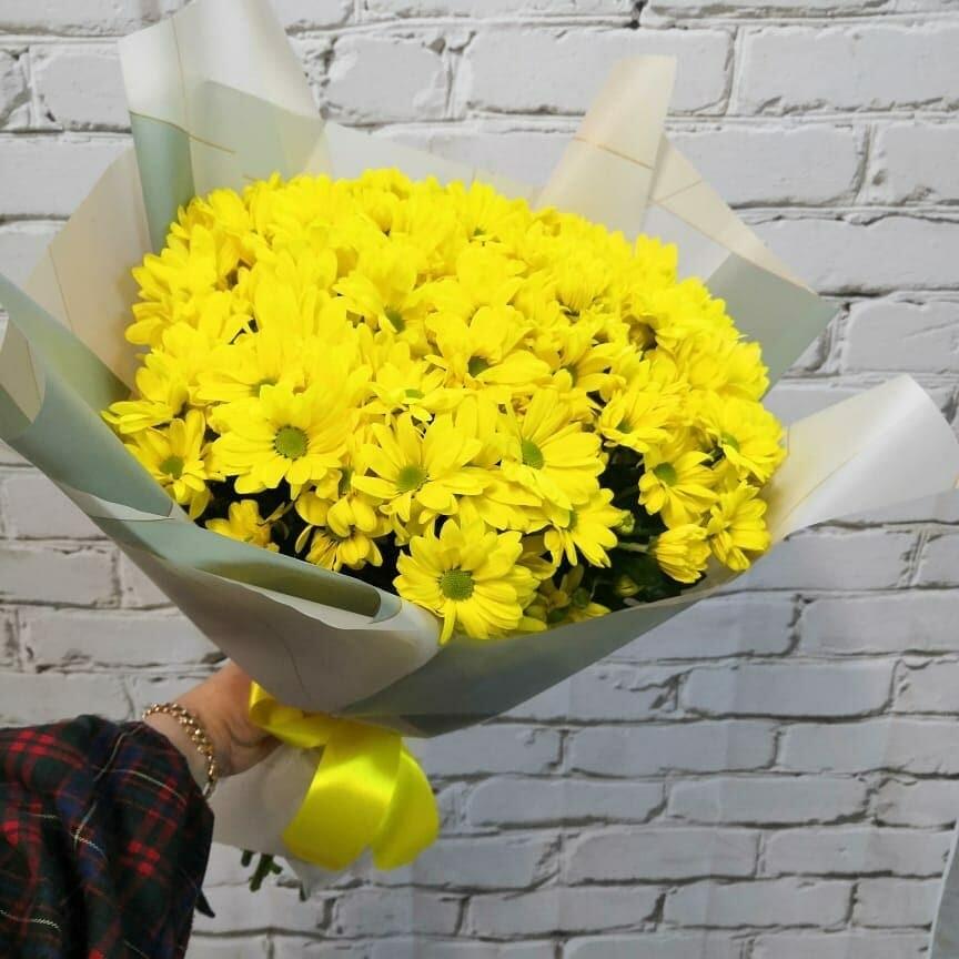 Букет Желтые Ромашки