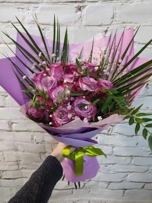Букет Фиолетовая Вуаль