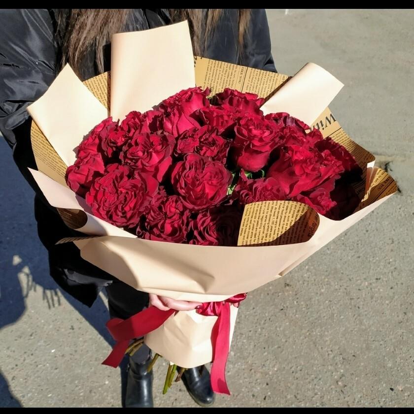 25 Роз Hearts