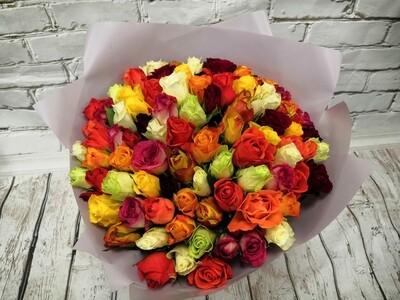 101 Роза 35см Кения