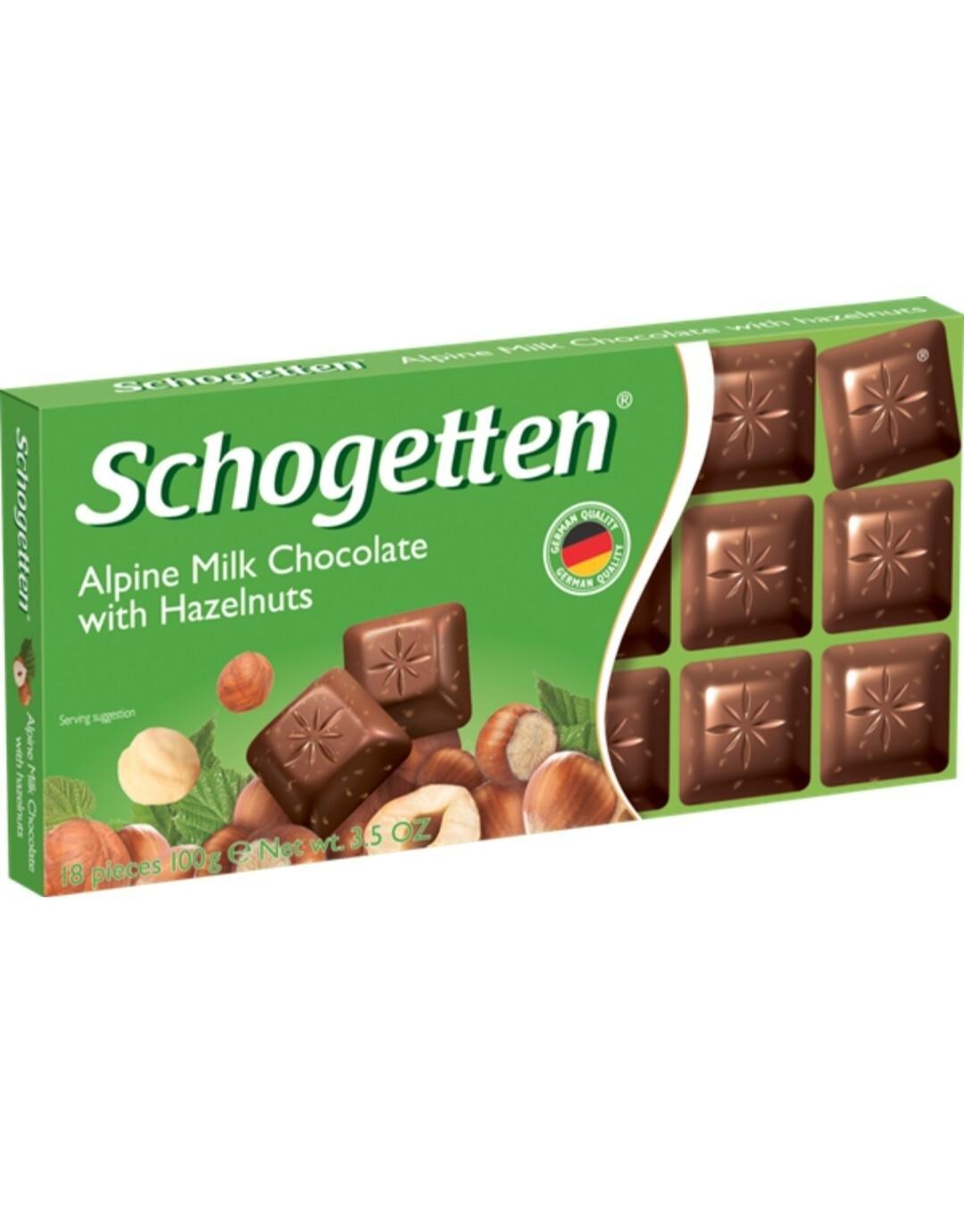 Шоколадка Schogotten