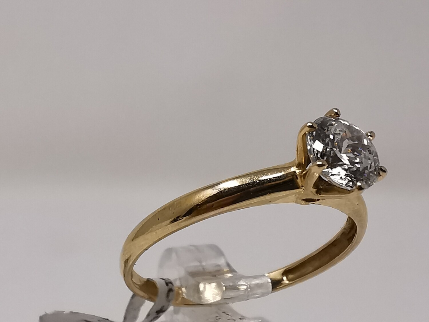 14ct Gold Ring CZ