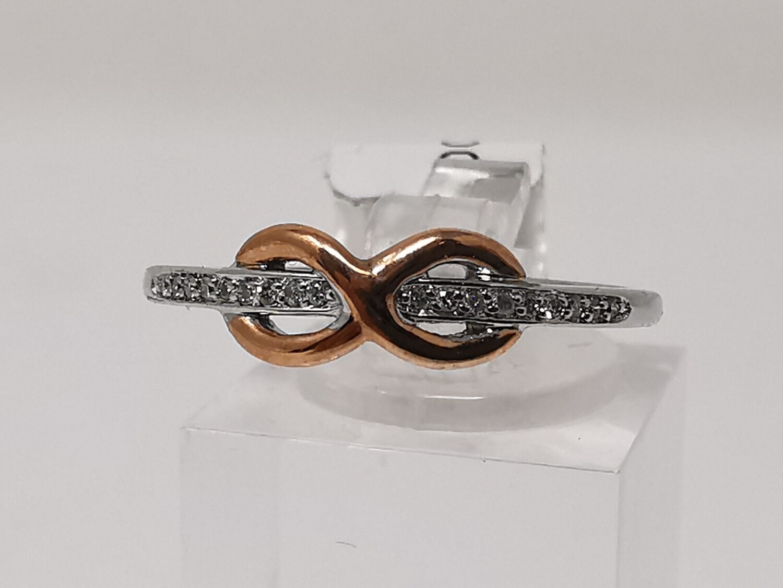 10ct Gold Ring Diamond