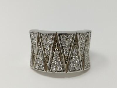 Silver Ring CZ 925 Ladies