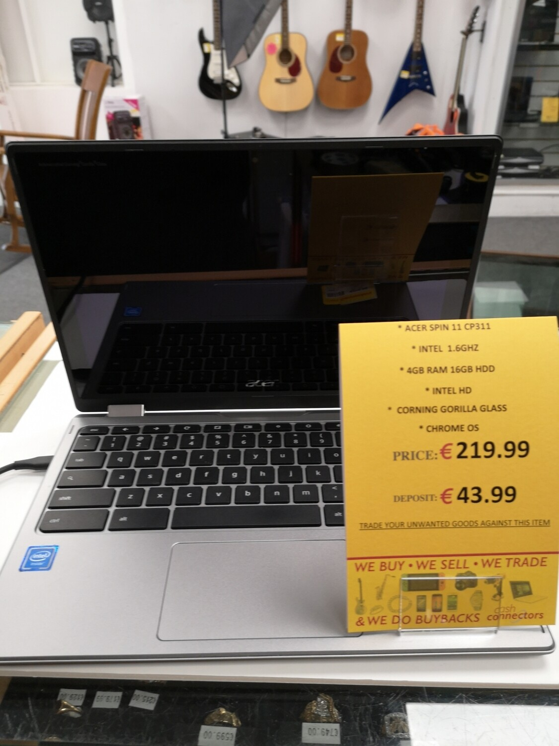 Acer spin11 CP311 CHROMEBOOK