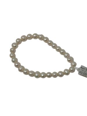 Bracelet White Pearls