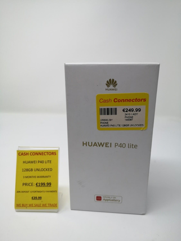 Huawei P40 Lite Any Network