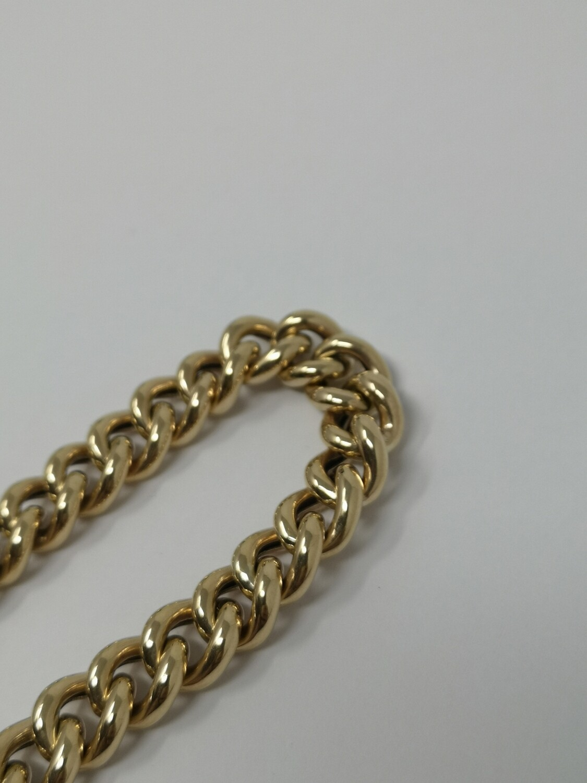 Gold Bracelet 9ct Gold Heart Lock