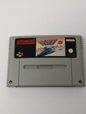F-ZERO Nintendo SNES PAL