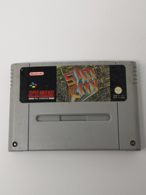 Sim City Super Nintendo Pal Version