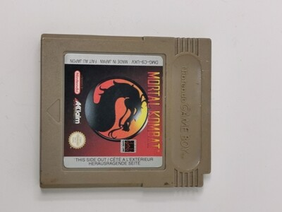 Mortal Kombat Nintendo Game Boy
