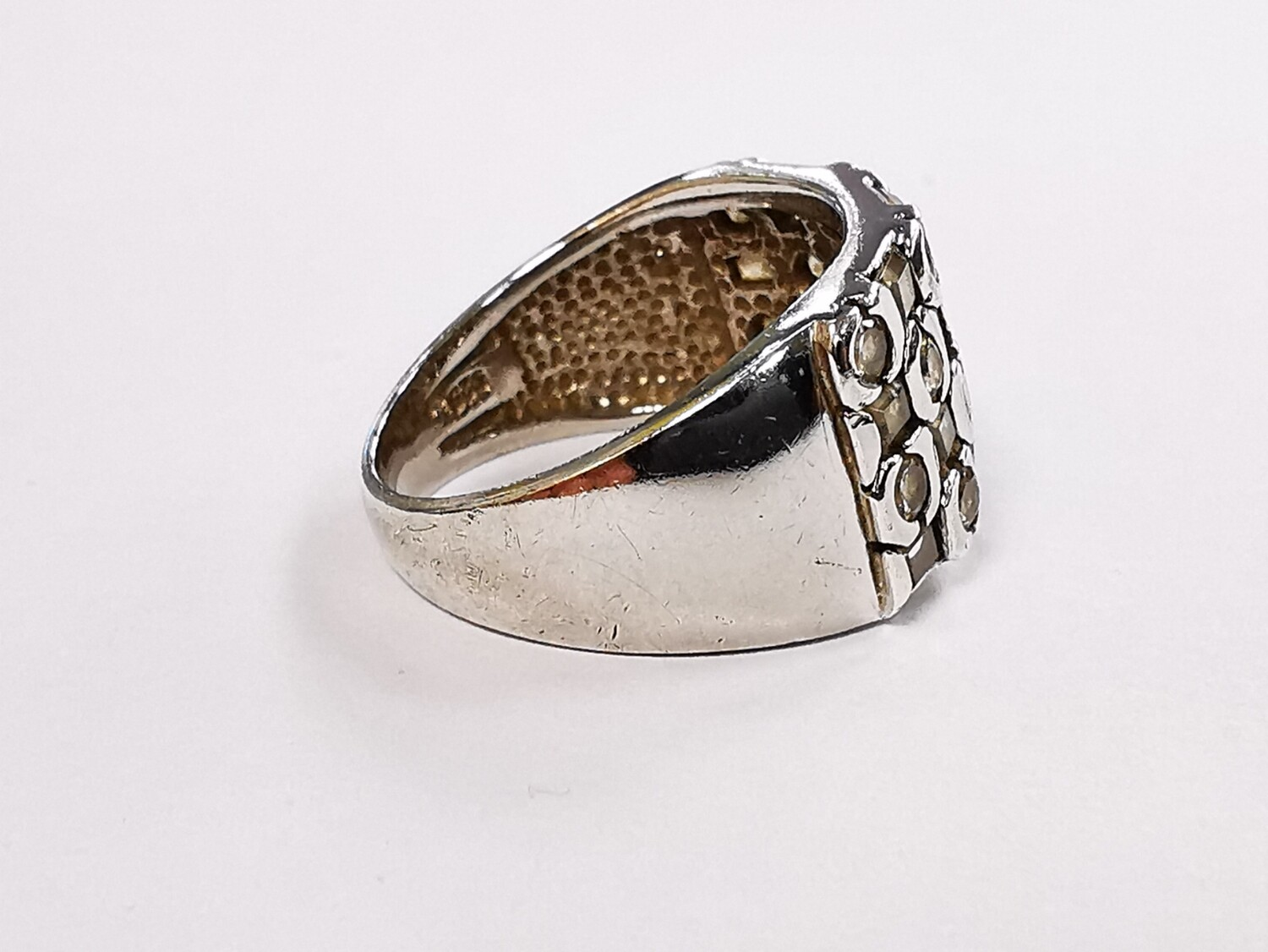 925 Sterling Silver Ring Ladies Cz