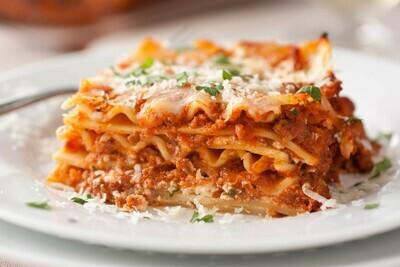 Chef Cesar's Three-Cheese Beef Lasagna