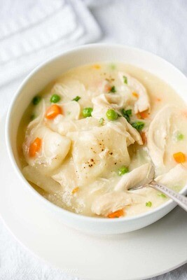 Warming: Chicken and Dumplings