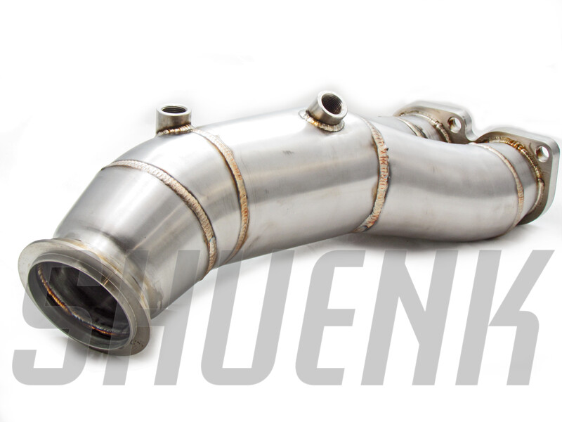 4 inch Catless Downpipe for N55 PWG 1- and 3-series