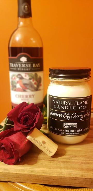 Traverse City Cherry Wine 16 oz Jar