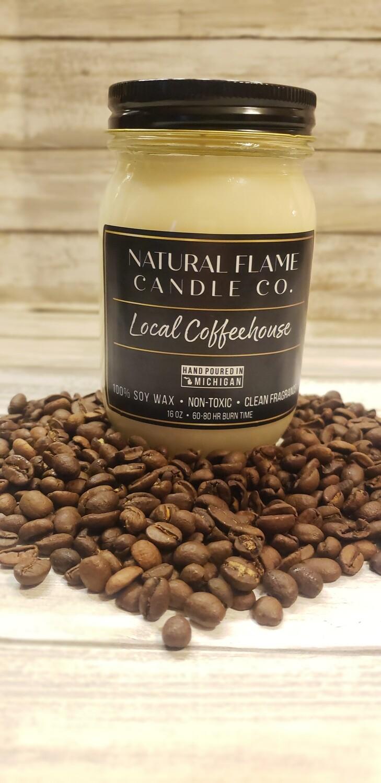 Local Coffeehouse 16 oz jar