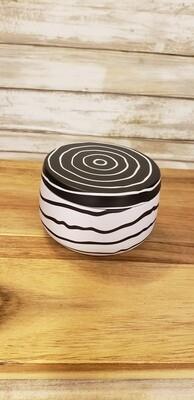 8 oz zebra tin