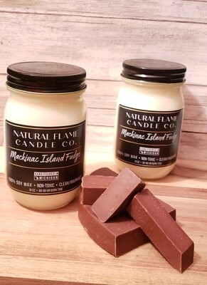 Mackinac Island Fudge 16 oz jar