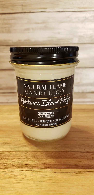 Mackinac Island Fudge 8 oz jelly jar