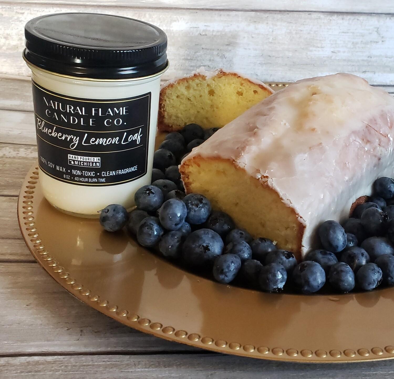 Blueberry Lemon Loaf 8 oz jelly jar