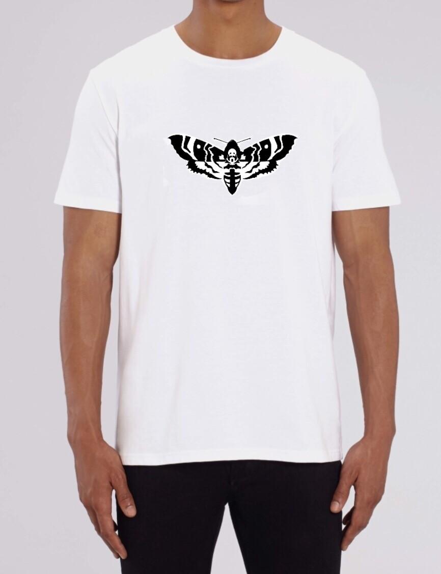 """Basic Unisex """"Death Hawk Moth"""" T-shirt"""