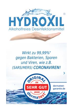 HYDROXIL für Oberflächen - 100ml bis 20 Ltr. Kanister ab