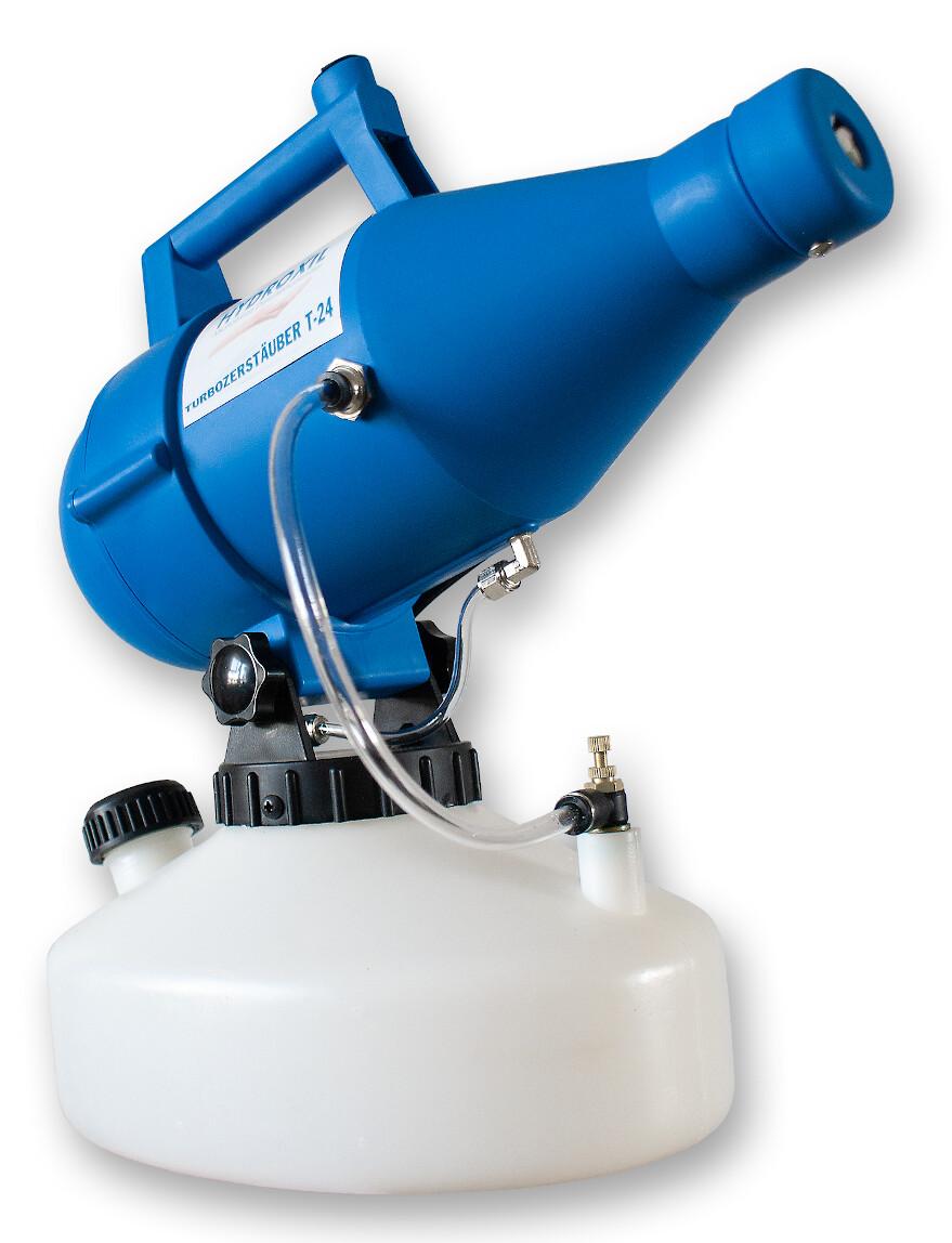 elektrischer Turbozerstäuer + HYDROXIL ab