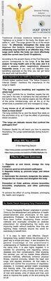 Live Online-course 23.-24.10.2021 Hu Xiaofei Seasonal Training Autumn - Nourishing the Lungs