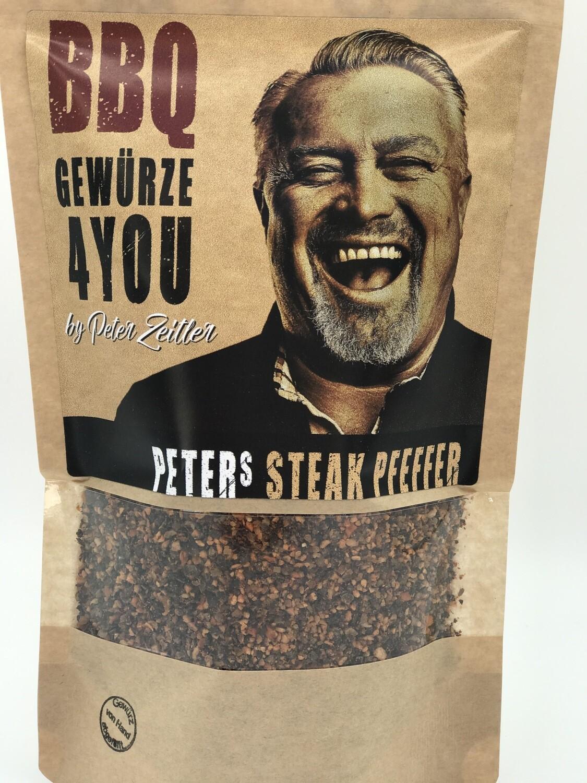 Peters Zeitler Steak Pfeffer Aromatischer Pfeffer mit Knoblauch & Karotten