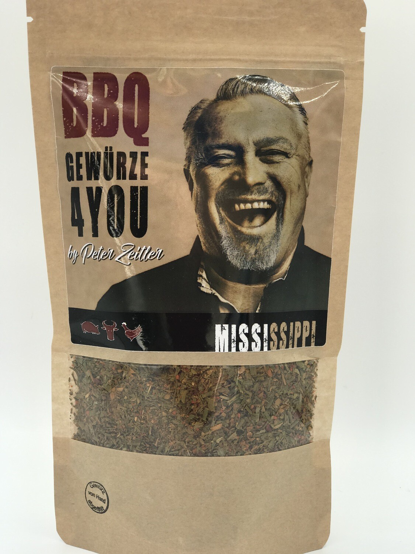 Mississippi pfeffrige Kräuter & Paprika Gewürz