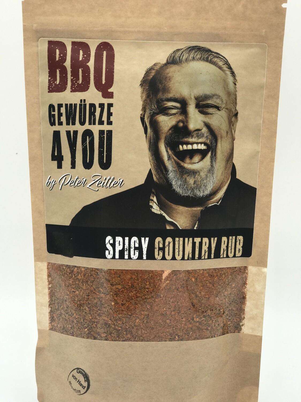 Spicy Country Rub Gewürz  Feuriger Geschmack - Naturbelassen