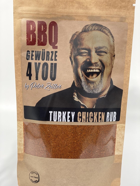Peter Zeitler Turkey Chicken Rub Grill Gewürz mit Jalapenos & Zitrone und einer Prise Muskat