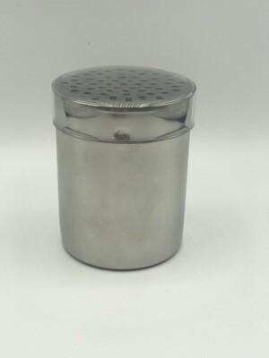 Hochwertiger Gewürz-Streuer aus Edelstahl mit Aroma- Deckel