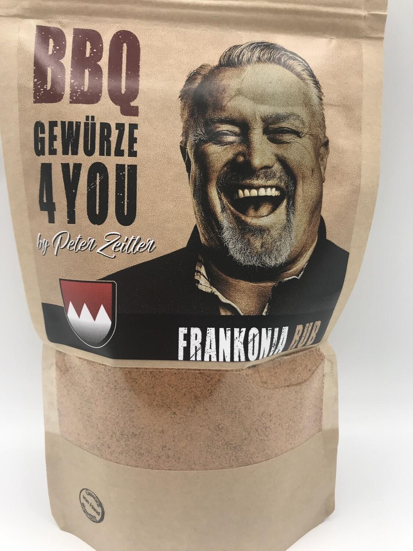Peter Zeitler Frankonia Rub Grill Gewürz aus Franken Spicy