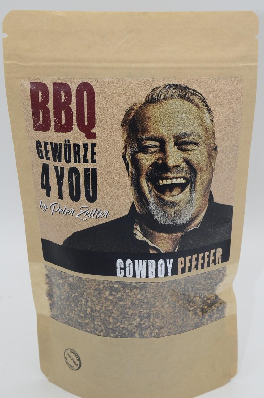 Peter Zeitler BBQ Cowboy Pfeffer mit Knoblauch