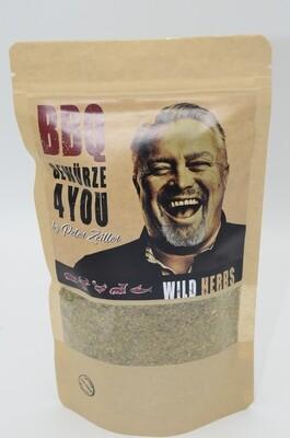 Peter Zeitler Wild Herbs Kräuter Grill Gewürz Grob mit Knoblauch-Pfeffrig