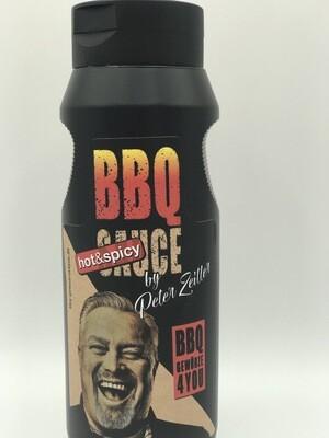 Peter Zeitler BBQ Sauce HOT & Spicy  Grill Sauce