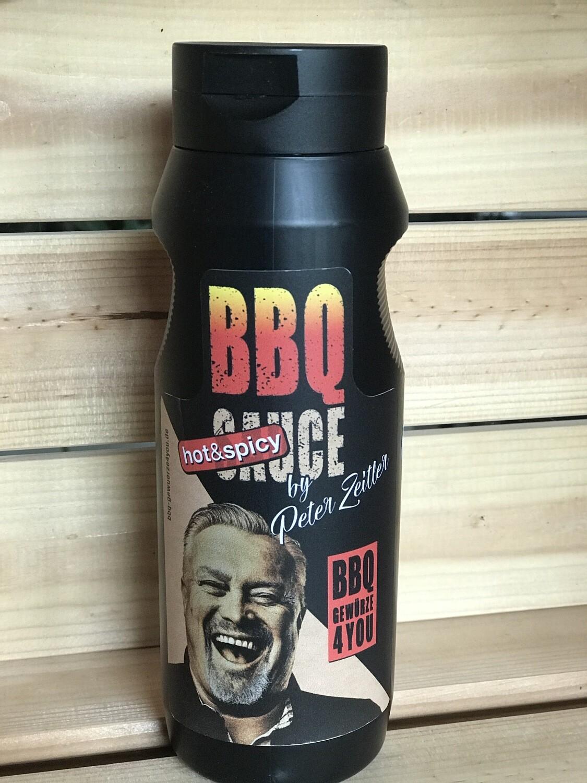 BBQ Sauce HOT & Spicy  Grill Sauce by Peter Zeitler