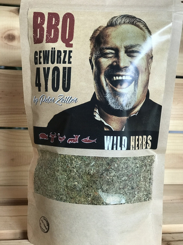Wild Herbs by Peter Zeitler Kräuter Grill Gewürz Grob als Allrounder