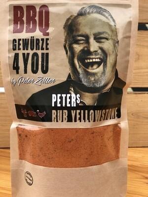 Peters Rub Yellowstone Grill Gewürz by Peter Zeitler feurig & scharf mit Rohrzucker