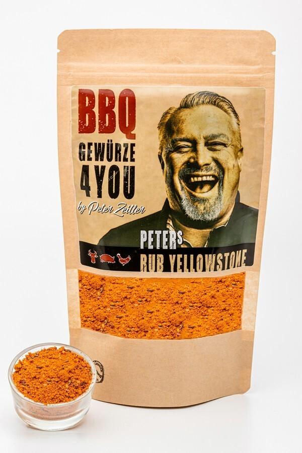 Peters Rub Yellowstone  - BBQ Grillgewürz by Peter Zeitler