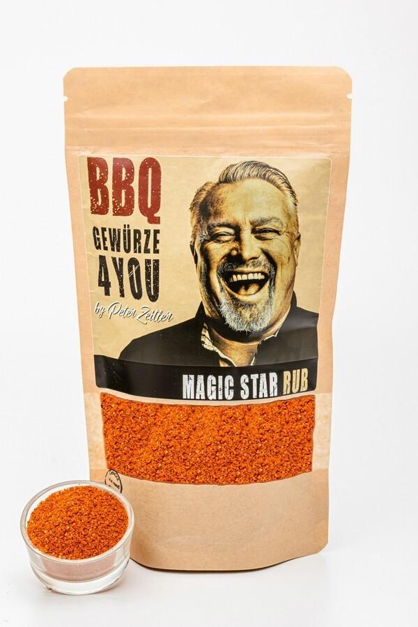 Magic Star Rub Grill Gewürz mit Jalapenos & Chili für Long Jobs
