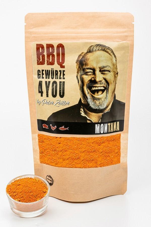 Montana - BBQ Grillgewürz by Peter Zeitler