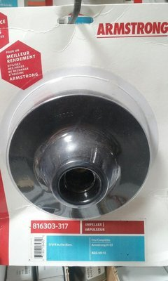 Armstrong 816303-317 Impeller 5-1/4 in. diam.