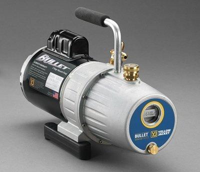 Yellow Jacket 93600  BULLET™ 7 CFM 115V/60 Hz single phase vacuum pump