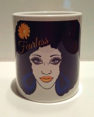 Catriceology Fearless Black Girl Magic Mug
