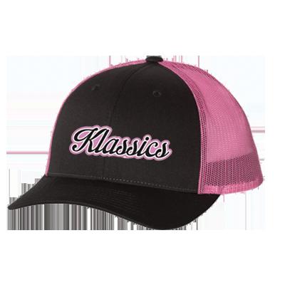 Hat - Pink Richardson - Low Pro Trucker Cap