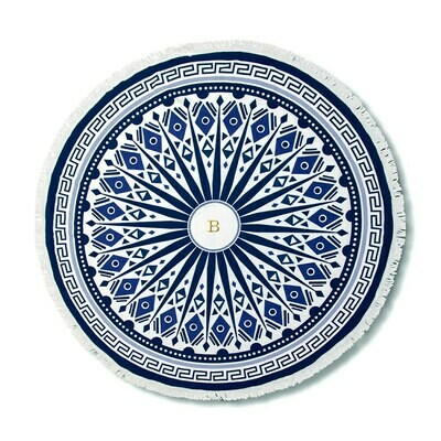 Round Beach Towels - Mandala Print